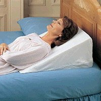 sleeping with acid reflux pillow